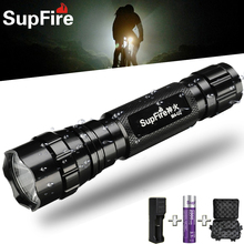 Supfire M4-XPE LED Portable Flashlight Police USB Rechargeable Hunting Searchlight Sports Waterproof Bicycle Light Flashlight