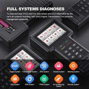 Image 4 - Thinkcar – outil de Diagnostic de voiture Thinkscan S99, lecteur de Code OBD2, réinitialisation de lhuile/freins/SAS/ETS/DPF, bricolage