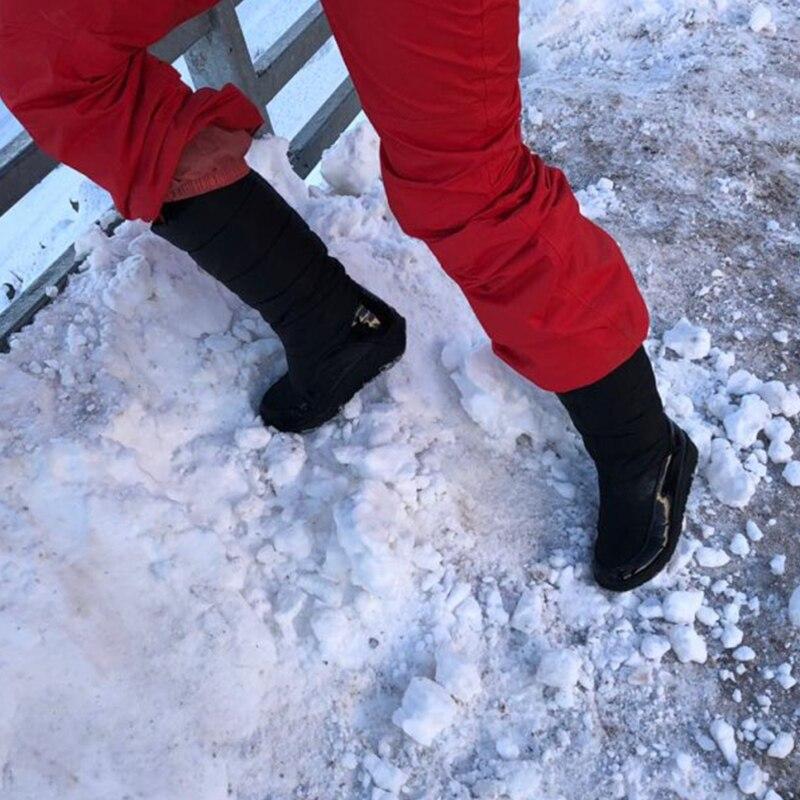 Women Snow Boots Winter Warm Platform Fur Fringe Shoes 14