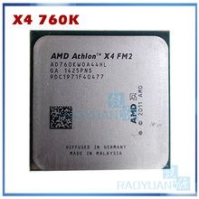 Quad-core amd athlon x4 760k x4 760 X4-760K, 4mb 3.8 w quad-core fm2 100 ghz-soquete do processador da cpu do núcleo fm2