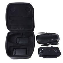 PU Leather Carrying Case Portable Storage Bag Box for DJI MAVIC AIR/Mini Drone цена 2017
