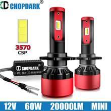 Led d2s d2r d1s d4s d2h d3s d4r d2c d1r d1c d3c d3r farol do carro lâmpada csp 3570 g-xp chips 20000lm 60w canbus-pronto para erros-livre