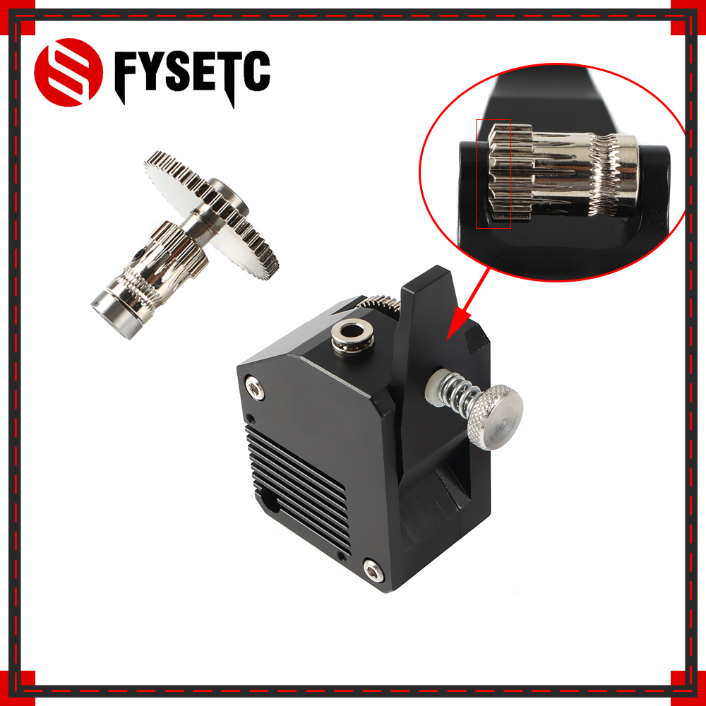 All Metal BMG Extruder Right Cloned Btech Bowden Extruder Dual Drive Extruder For Wanhao D9 Creality CR10 Ender 3 3 Pro Anet E10