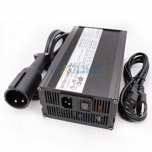 Image 2 - 48V 10A Ladegerät 48V 10 Amp Blei Säure Batterie Ladegerät Für 48V Club auto Golf warenkorb Ausgang 55,2 V