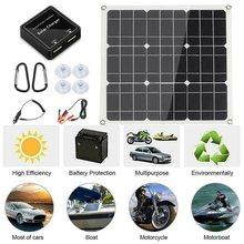 НОВЫЙ 200 w Панели солнечные комплект с ЖК контроллер солнечной