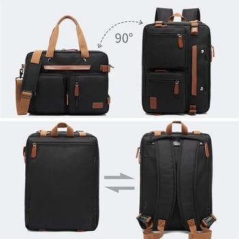 New Backpack 15.6/17.3 inch Laptop Bag Portable Business Bag Multi-function Hand bag Shoulder Outdoor Waterproof Backpack