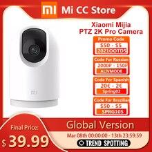 Глобальная версия Xiaomi Mijia 2K Pro камера 360 PTZ углы 1296p HD bluetooth Беспроводная IP камера бейби монитор домофон домашней безопасности