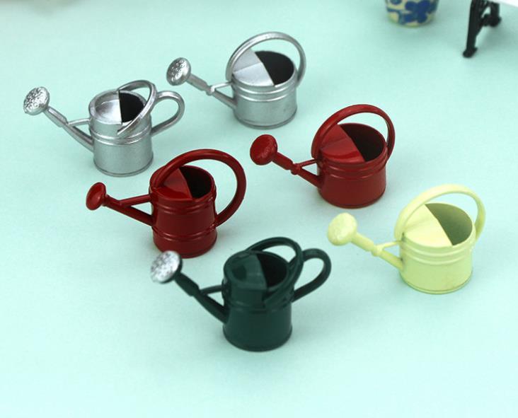 1:12 Dollhouse mini watering can scissors shovel set simulation pruning tool /_ES
