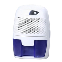 Mini Dehumidifier For Bathroom,Bedroom, Closet, Basement Ultra Quiet (White)(Us Plug )