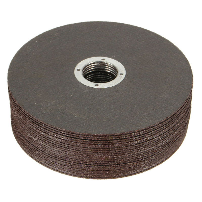 25pcs/set Thin Metal Cutting Slitting Discs Stainless Steel 115mm/4.5