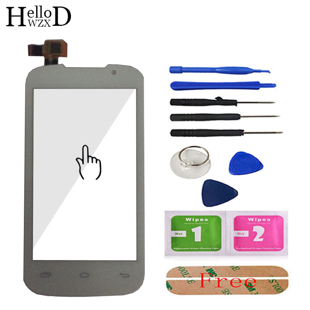 Touch Screen For Prestigio MultiPhone PAP 3400 Duo PAP3400 Smartphone Front Touch Glass Screen Digitizer Panel Sensor Lens Tools