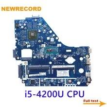 NEWRECORD NBMFP11005 NB.MFP11.005 V5WE2 LA-9531P REV 1A для acer aspire E1-572G материнская плата для ноутбука core i5-4200U CPU 8670M GPU