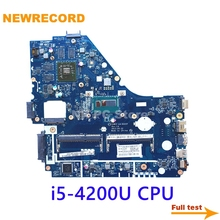 Laptop Motherboard Acer V5WE2 NEWRECORD for Aspire E1-572G Core I5-4200u CPU 8670m-Gpu