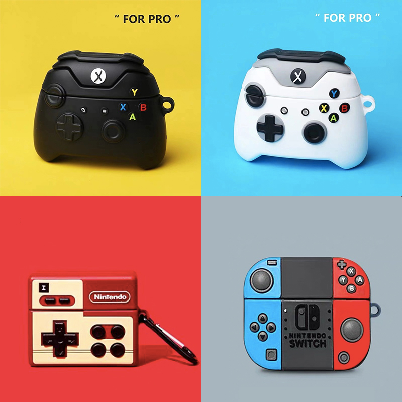 New Switch Model Cute For Airpods 3 Case For Airpods Pro Case Game Fanda High End Earphone Cover For Apple Buletooth Cases