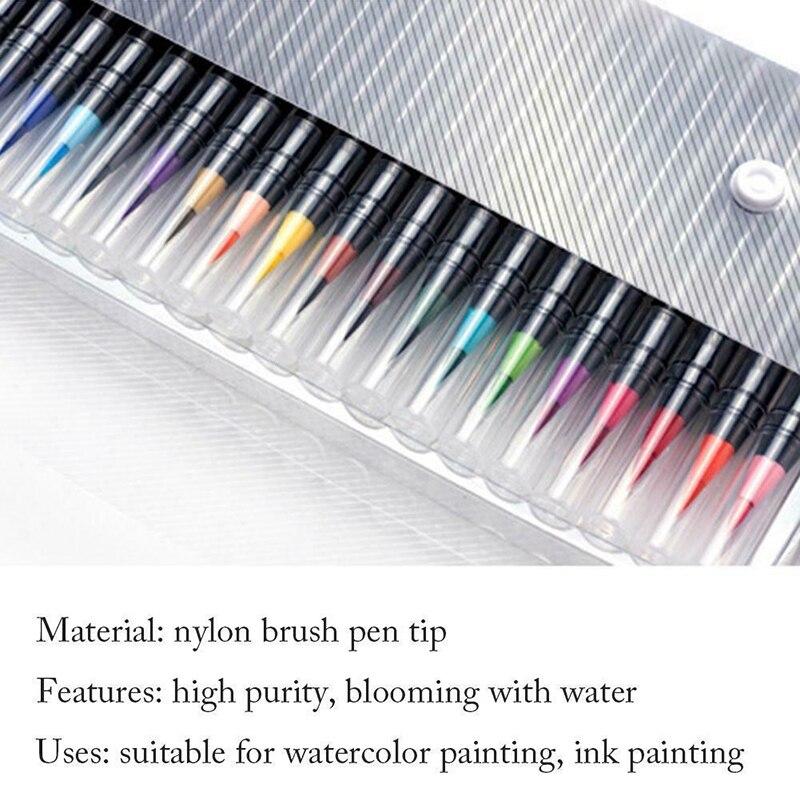 aquarela caneta definido para escola vh99 03