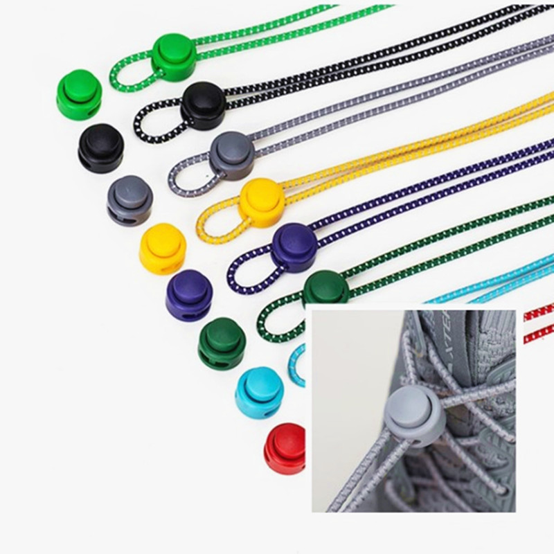 2020 Hot Sale New Fashion Reflective Shoelaces Tightening Shoelaces Lazy Shoelaces 3 Mm Elastic Rope Sports Shoes