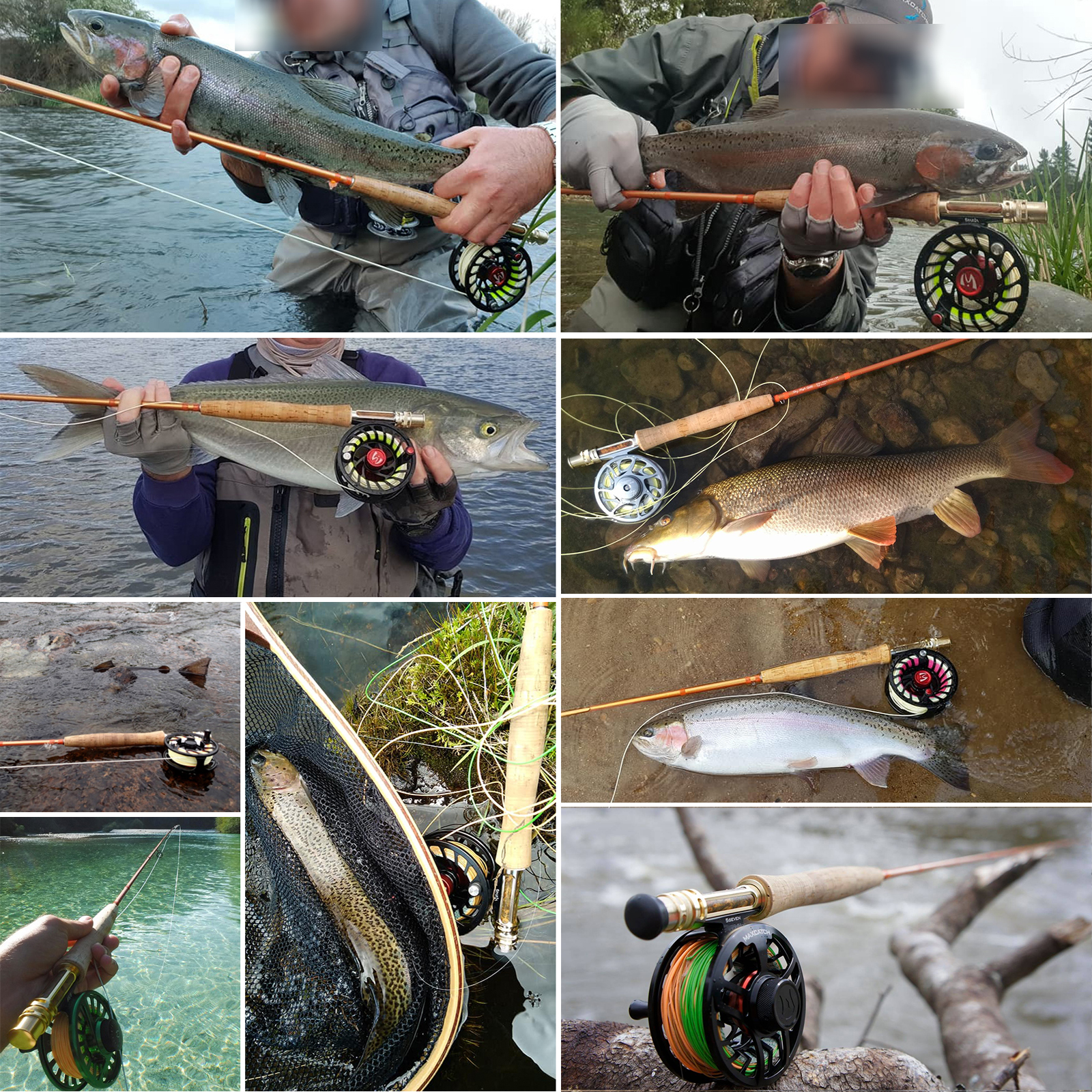 Maximumcatch Fly Rod IM12 40T+46T Toray Carbon Super Light Sensitive Fast Action Fly Fishing Rod With Carbon Tube 5/6/8WT 9FT