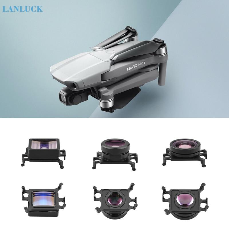 Wide-angle   Fisheye   1 33X Anamorphic Lens for DJI Mavic AIR 2 Drone HD Wide Angle Camera Lens for mavic air2 Accessories