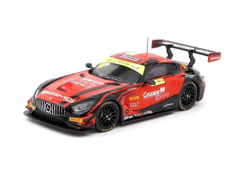Tarmac Works 1:64 AMG GT3 Macau GT World Cup 2018 Racing Diecast Model Car