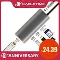 Кабель USB C концентратор HDMI 4K Type C к USB 3 0 TF Micro SD кардридер 6 в 1 USB-C Зарядка для Matebook X 13 MacBook Pro C040
