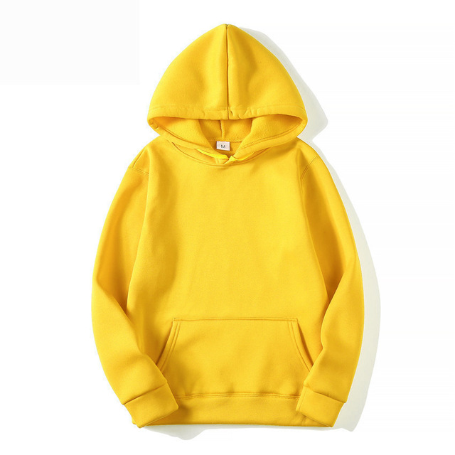 Fashion Brand Men's Hoodies 2020 Spring Autumn Male Casual Hoodies Sweatshirts Men's Solid Color Hoodies Sweatshirt Tops 6