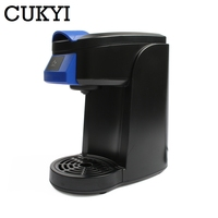 CUKYI Electric Drip Coffee Maker Portable Mini Espresso Powder Capsules Cafe American Coffee Machine Extractor Cafe Stove 360ML|Capsule Coffee Machine| |  -