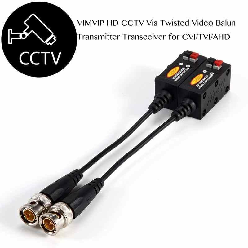 1080P AHD/HD-CVI/TVI/CVBS Thụ Động HD Video Balun Bộ Phát 4 Đôi (UTP Lên đến 350 M-600 M)