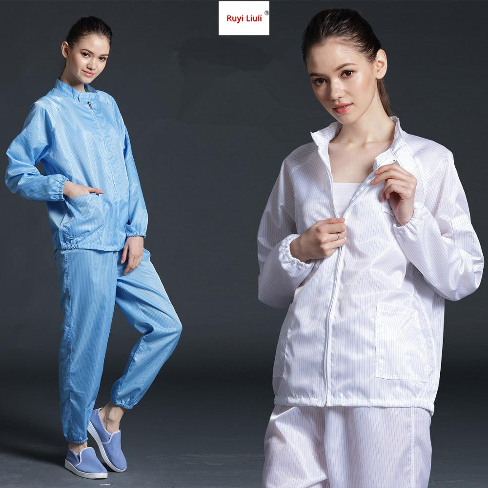 Protective Clothing Dust-proof Clothing Anti-static Work Clothes Split Clothing Spray Paint Clean Clothing Split Dust-free Suit