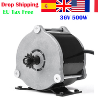 MY1018E D UNITEMOTOR 500W 36V Electric Bicycle Brushed Motor Ebike Gear DC Motor E Scooter Motor Ebike kit