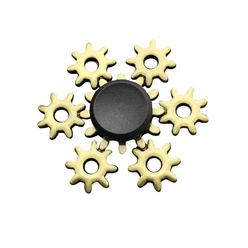 Metal Fidget Spinners Stress Relief Spin For Adult Kid Office People Anxiety Removal Toys