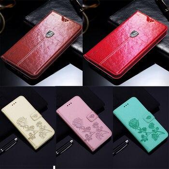 Перейти на Алиэкспресс и купить Чехол-кошелек для Infinix S5 Pro lite Smart 2 HD 3 Plus Zero 6, новый высококачественный кожаный защитный чехол-книжка для телефона