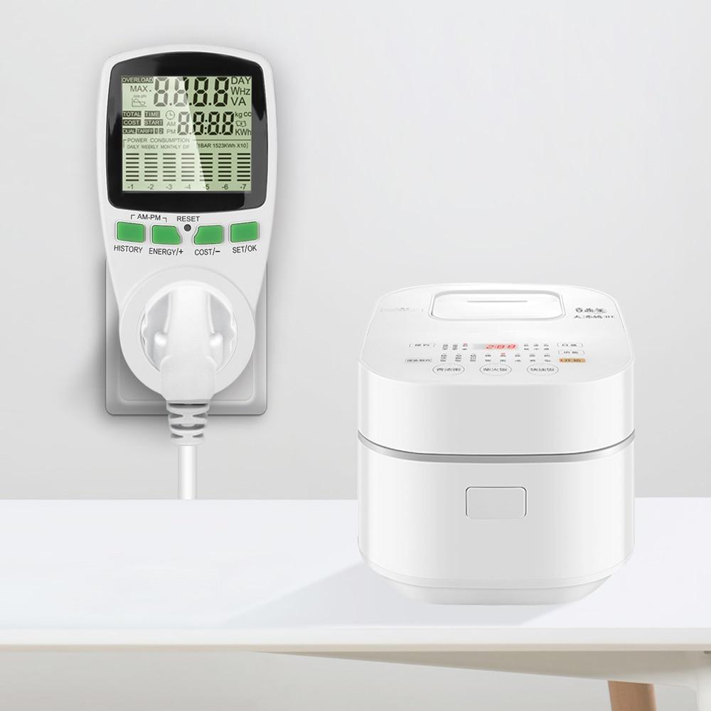 Умный измеритель электроэнергии в переменном токе, измеритель электроэнергии в кВтч, монитор, анализатор тока