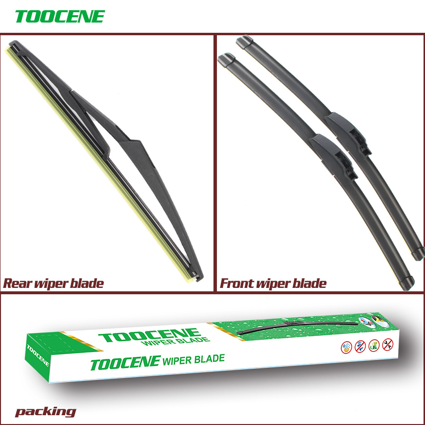 Front And Rear Wiper Blades For Mini Cooper R50/R53 2001  2006 Windshield Windscreen Wiper Auto Car Styling|wiper blade|rear wiper blade|windscreen wiper - title=