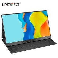 Портативный монитор UPERFECT, 4K/1080P, 15,6 дюйма, USB Type C, IPS, для Ps4, Xbox, Huawei, Xiaomi