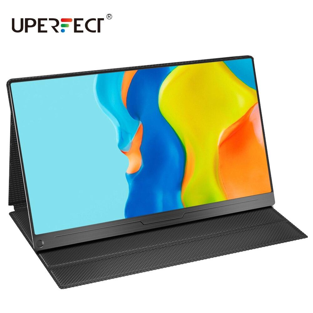 """UPERFECT 4K/1080P 15.6 """"USB TypeC IPS écran Portable moniteur pour Ps4 commutateur Xbox Huawei Xiaomi téléphone jeu ordinateur Portable écran LCD"""