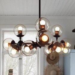 Sufitowe oświetlenie do sypialni salon nowoczesne oświetlenie szklane vintage oprawy sufitowe lampa kuchenna luminarias