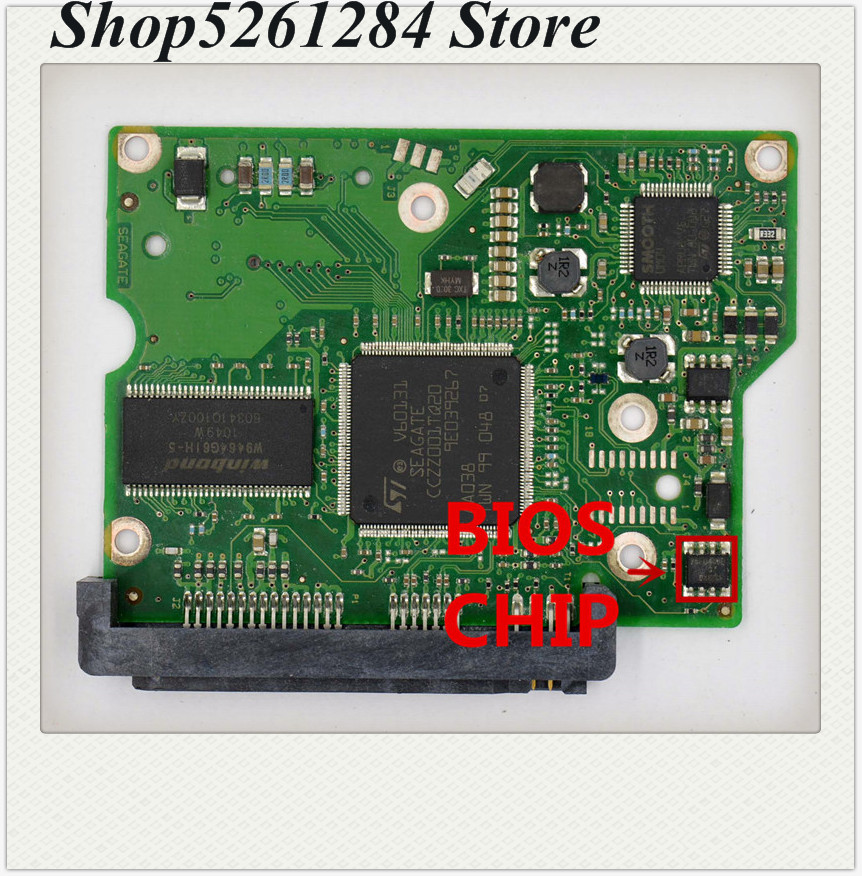 Seagate HDD PCB 100532367 ST3500413AS ST3500418AS STM3500418AS 100532367 REV A//B
