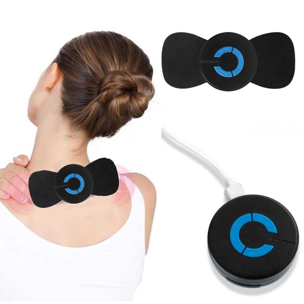 Mini Multi-Function Cervical And Neck Massager Therapy Instrument Vertebra Treatment Instrument Relieve Fatigue USB Charging