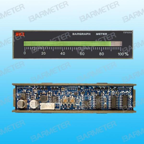 Marine Valve Console Display Device 101 Segment LED Embedded Meter (Horizontal type DC5V)