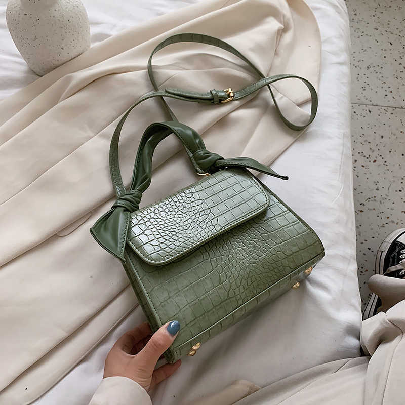 Crocodile Pattern PU Leather Crossbody Bags For Women 2020 Fashion Small Shoulder Handbags Female Summer Tote Bag