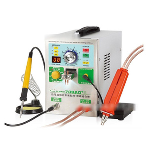 Image 2 - SUNKKO 3.2KW 709AD+ spot welder machine pulse spot welding for 18650 battery pack Production with welding pen and soldering iron