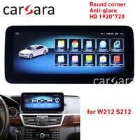 W212 ekran dotykowy Android jednostka główna radio GPS nawigacja stereo multimedialnych 10-15 2G RAM 10.25 E200 E250 E300 E350 E400 E63 AMG