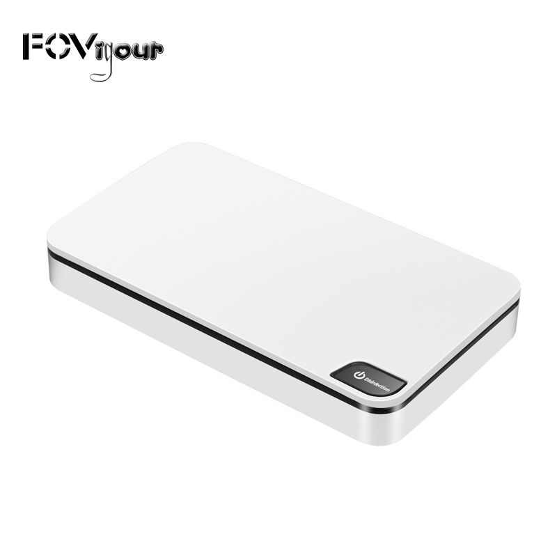 FOVigour Phone Sterilizer Box UV Cell Phone Sanitizer Wireless Charger Disinfection Box