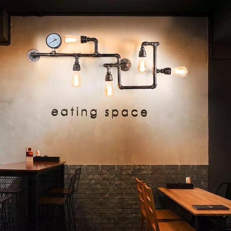 led para decoração de loft, quarto, bar, café