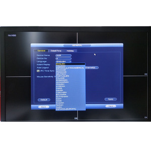 Image 2 - Dahua kit de câmera ip nvr 4ch 4k gravador de vídeo NVR2104HS P 4KS2 & dahua 4mp câmera ip 4pcs IPC HDBW4433R AS multi idioma