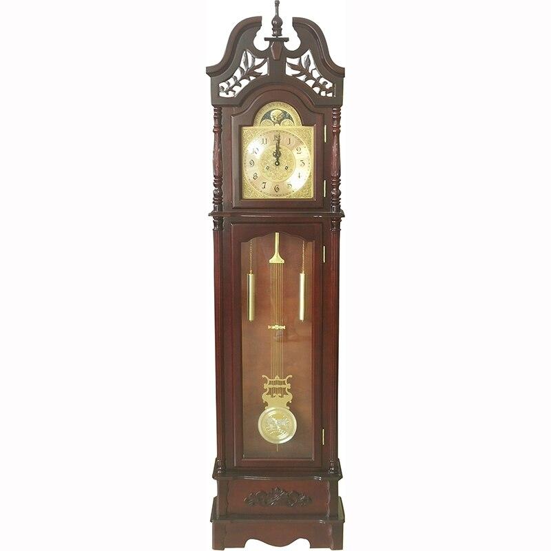 클래식 패션 목조 진자 서 기계 할아버지 층 시계