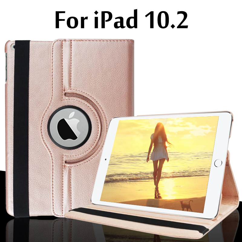 Smart Case For IPad 10.2 Case Cover For IPad 7 7th Generation A2200 A2198 A2232 A2197 Funda 360 Degree Rotating Leather