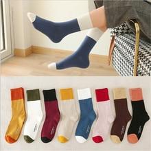 Newly Design Cute Cotton Letters Crew Socks Women  Sock girl kawaii Winter Female Crew Women Socks tck digital camo crew socks