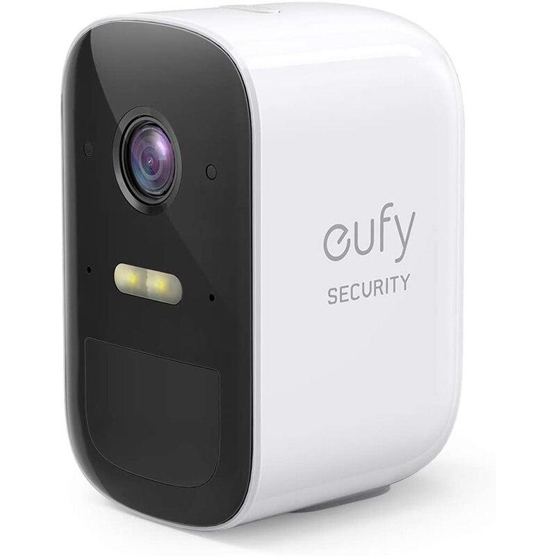 Eufy segurança câmera adicional de segurança doméstica, euarcam 2c sem fio, requer a homebase 2, vida da bateria de 180 dias, (apenas da câmera)