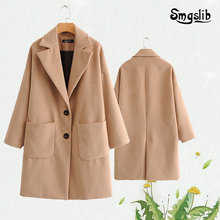 Womens suit, Khaki sunny jacket, leisure elegant home, autumn and winter warmth, the latest in 2019